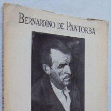 Libros antiguos: DE PANTORBA, BERNARDINO EL PINTOR SALAVERRÍA DEDICATORIA FIRMADO PRIMERA EDICIO. Lote 148805614