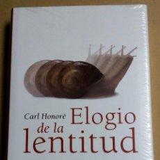Libri antichi: ELOGIO DE LA LENTITUD. CARL HONORÉ CIRCULO DE LECTORES.. Lote 148821670