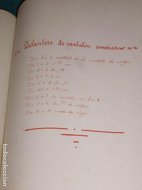 Libros antiguos: NUEVO METODO DE CORTE PARA SASTRES - EL ARTE DE CORTAR SIN MAESTRO - 1899 - Foto 15 - 148846994