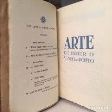 Libri antichi: VINOS PORTUGUESES (UN TOMO CONTENIENDO VARIAS OBRAS SOBRE VINOS: PORTO, COLARES, DAO, PASTO, SETUBAL. Lote 148863462