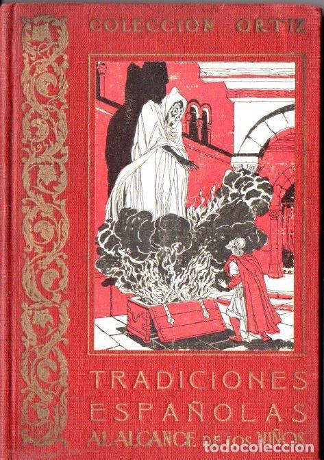 AMADOR DE TABARCA : TRADICIONES ESPAÑOLAS AL ALCANCE DE LOS NIÑOS (ESTUDIO, S.F.) (Libros Antiguos, Raros y Curiosos - Literatura Infantil y Juvenil - Otros)