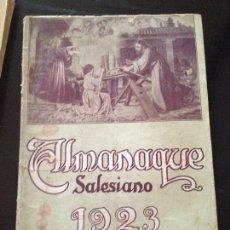 Libros antiguos: ALMANAQUE SALESIANO 1923. Lote 148954934