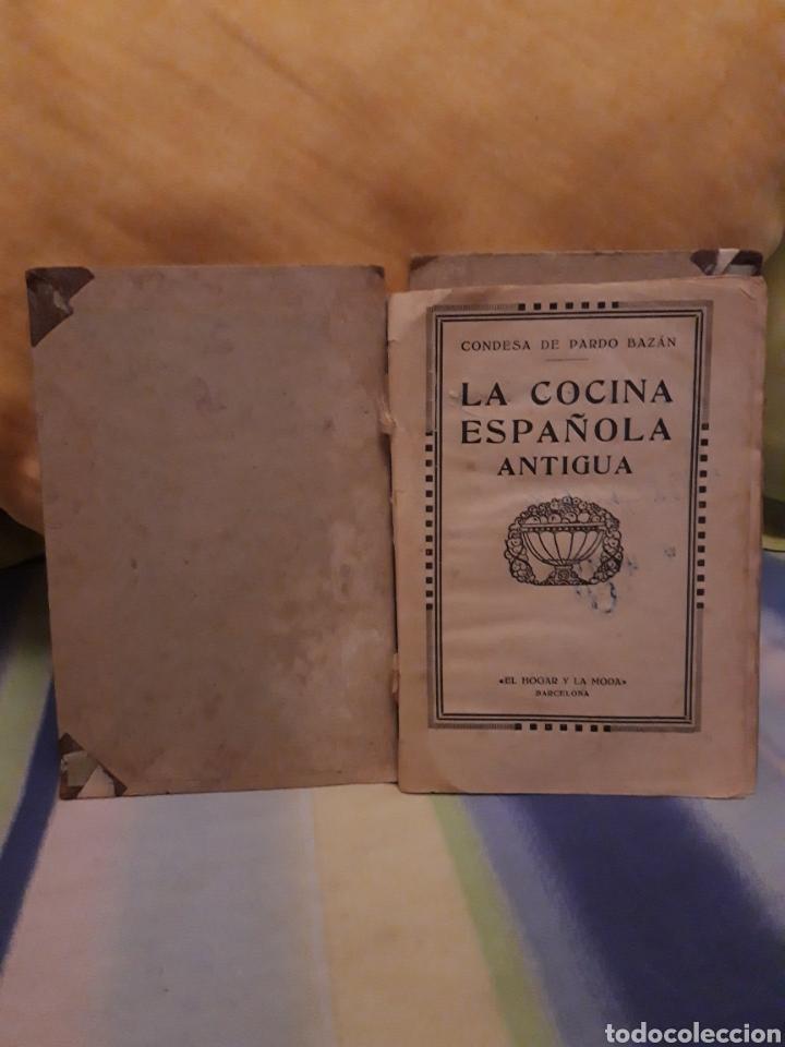 Libros antiguos: LA COCINA ESPAÑOLA ANTIGUA-CONDESA DE PARDO BAZÁN-1913-1920 - Foto 16 - 87792684
