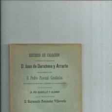 Libros antiguos: 1896 PORTUGALETE MINERÍA - LIQUIDACIÓN DE UNA SOCIEDAD DE EXPLOTACIÓN DE MINAS Y CANTERAS DE HIERRO. Lote 149237812