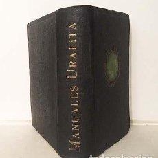 Libros antiguos: AGENDA URALITA. (1935) 760 PAGS. 1 DESPEGABLE. CON FOTOS DE OBRAS ESPAÑOLAS. . Lote 149266274