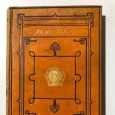 Libros antiguos: JDEALE FRAGEN IN REDEN UND BORTRÄGEN. BERLIN 1879. M. LAZARUS. . Lote 149354902