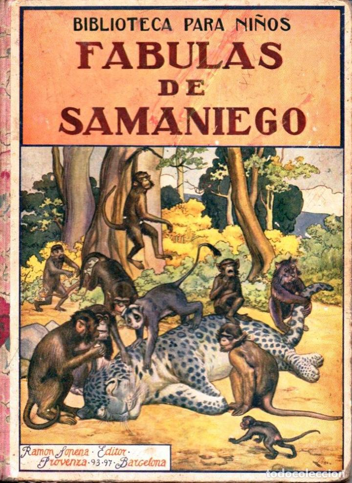 FÁBULAS DE SAMANIEGO (SOPENA, 1934) (Libros Antiguos, Raros y Curiosos - Literatura Infantil y Juvenil - Otros)