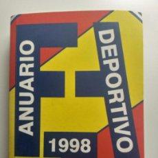 Libri antichi: ANUARIO DEPORTIVO AUTOMOVILISTICO. AÑO 1998. FEDERACION ESPAÑOLA DE AUTOMOVILISMO.. Lote 149481766