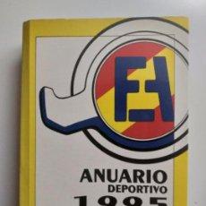 Libri antichi: ANUARIO DEPORTIVO AUTOMOVILISTICO. AÑO 1995. FEDERACION ESPAÑOLA DE AUTOMOVILISMO.. Lote 149481870