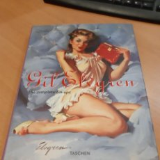 Libros antiguos: GIL ELVGREN, THE COMPLETE PIN-UPS, TASCHEN. Lote 149515630