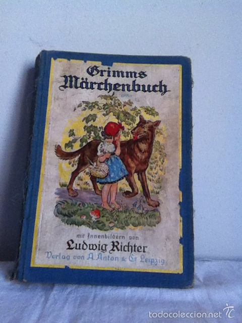 GRIMMS MARCHENBUCK ( ALEMÁN) AÑOS 20 O ANTERIOR (Libros Antiguos, Raros y Curiosos - Otros Idiomas)