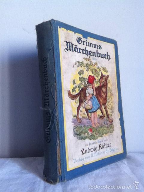 Libros antiguos: GRIMMS MARCHENBUCK ( alemán) Años 20 o anterior - Foto 2 - 149517348