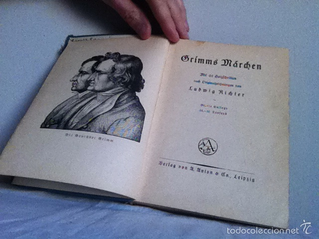 Libros antiguos: GRIMMS MARCHENBUCK ( alemán) Años 20 o anterior - Foto 3 - 149517348