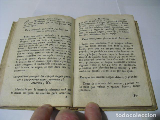 Libros antiguos: 1760 SECRETOS DE ARTES LIBERALES Y MECANICAS BERNARDO MONZON - Foto 3 - 149526618