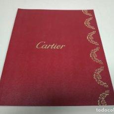 Libros antiguos: 519- CATÁLOGO CARTIER. Lote 149589678