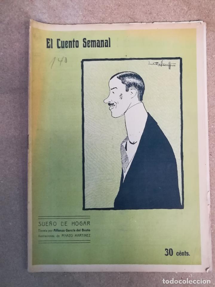 CUENTO SEMANAL SUEÑO DE HOGAR (Libros antiguos (hasta 1936), raros y curiosos - Literatura - Narrativa - Otros)