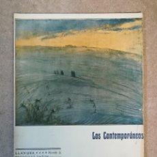 Libros antiguos: LOS CONTEMPORÁNEOS : LLANURA DE FRANCISCO ANTÓN, ILUST: F. MOTA, 28-MAY-1909 Nº 22. Lote 149603094