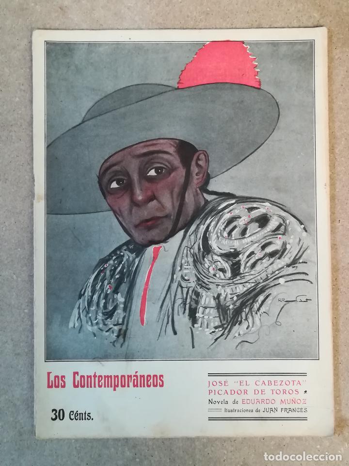 LOS CONTEMPORÁNEOS : JOSE EL CABEZOTA (Libros antiguos (hasta 1936), raros y curiosos - Literatura - Narrativa - Otros)
