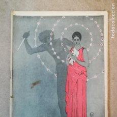 Libros antiguos: LOS OJOS FRIOS , NOVELA DE EDUARDO ZAMACOIS ILUSTRADO ROMERO-CALVET. Lote 149608362