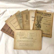 Libros antiguos: LOTE GUARDIA CIVIL REVISTA ATESTADOS MANUAL ENJUICIAMIENTO AÑOS 20 40. Lote 149633176