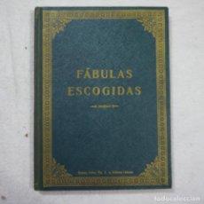 Libros antiguos: FÁBULAS ESCOGIDAS - DON F. M. SAMANIEGO - DALMAU CARLES PLA EDITORES - 1928. Lote 149846222