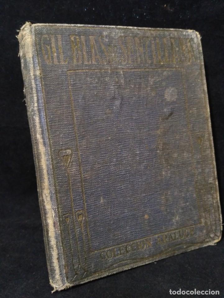 AVENTURAS DE GIL BLAS DE SANTILLANA DE 1925 (Libros Antiguos, Raros y Curiosos - Ciencias, Manuales y Oficios - Otros)