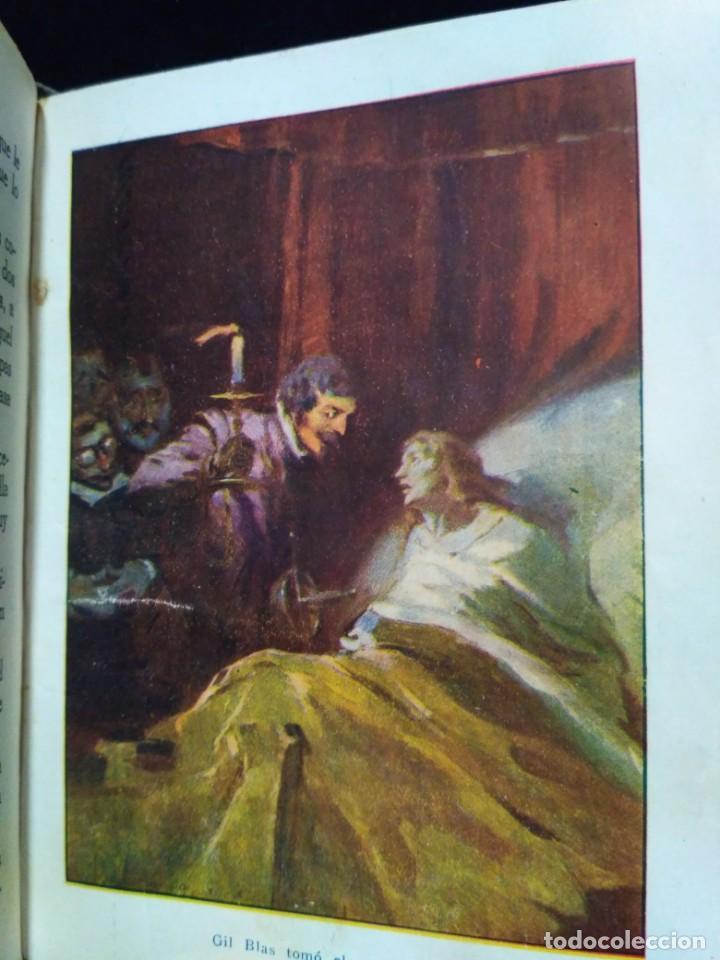 Libros antiguos: Aventuras de Gil Blas de Santillana de 1925 - Foto 7 - 149930002