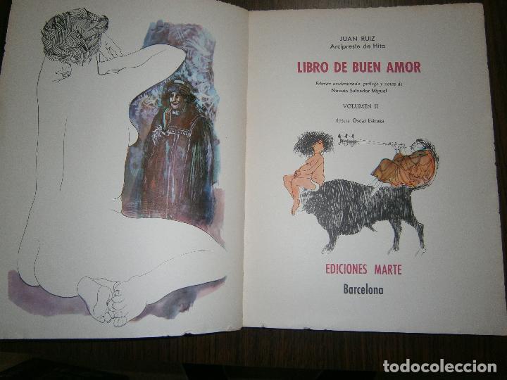 libro de buen amor volumen ii año 1968 - Comprar en