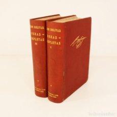 Libros antiguos: SIMON BOLIVAR (OBRAS COMPLETAS LEX) - SIMON BOLIVAR. Lote 149949434