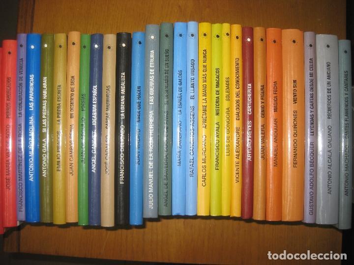 27 LIBROS DE LA BIBLIOTECA DE AUTORES ANDALUCES.(MACHADO, BECKER, ANTONIO GALA,.......) 2004 (Libros antiguos (hasta 1936), raros y curiosos - Literatura - Narrativa - Otros)