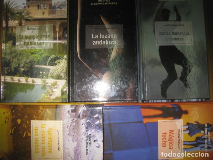 Libros antiguos: 27 LIBROS DE LA BIBLIOTECA DE AUTORES ANDALUCES.(MACHADO, BECKER, ANTONIO GALA,.......) 2004 - Foto 2 - 149981230