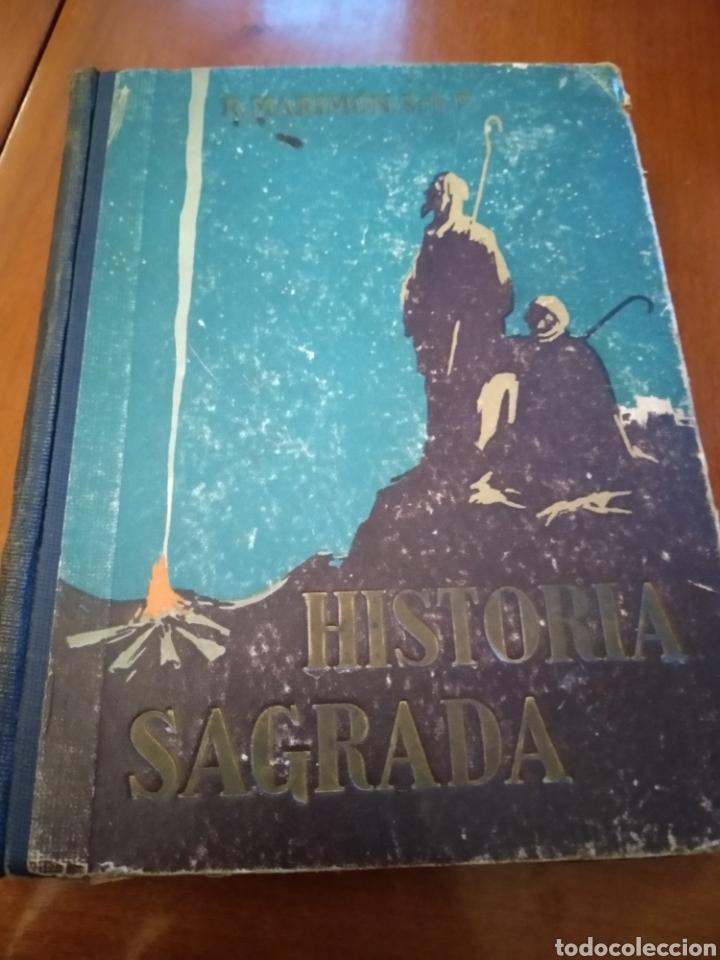 HISTORIA SAGRADA. RAFEL MARIMÓN. (Libros Antiguos, Raros y Curiosos - Historia - Otros)