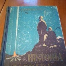 Libros antiguos: HISTORIA SAGRADA. RAFEL MARIMÓN.. Lote 149990906