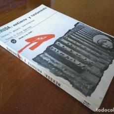 Libros antiguos: NERUDA ENTIERRO Y TESTAMENTO - ALVARO SARMIENTO Y FOTOS DE FINA TORRES 1ª EDICION 1973. Lote 150079846
