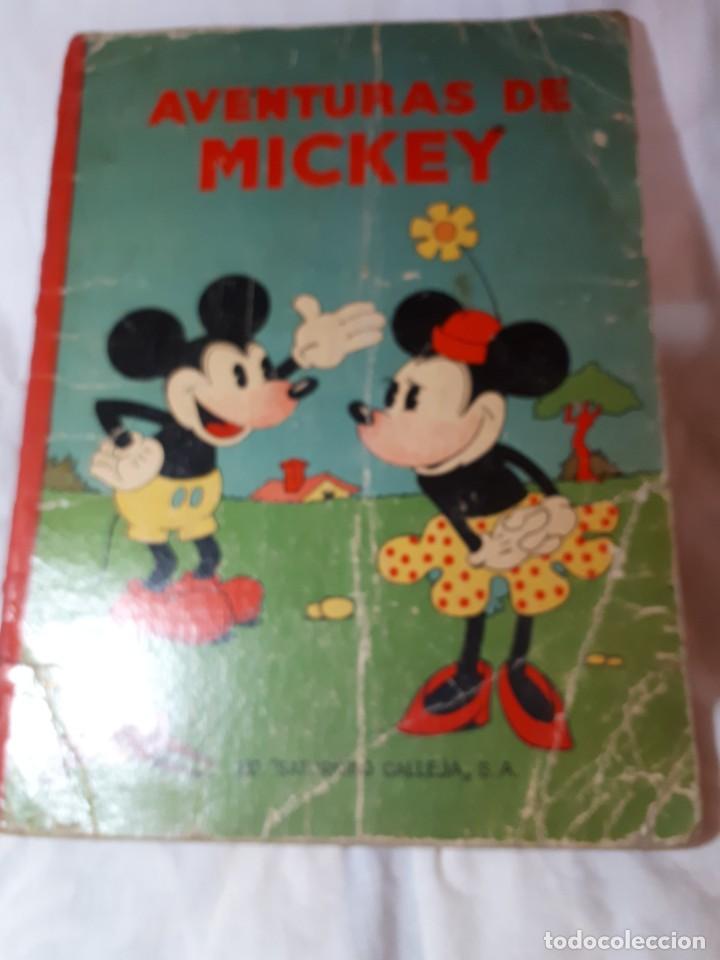 AVENTURAS E MICKEY, DE CALLEJA (Libros Antiguos, Raros y Curiosos - Literatura Infantil y Juvenil - Otros)