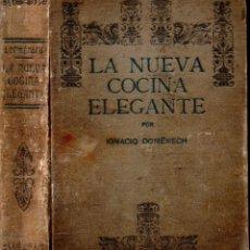 Libros antiguos: DOMENECH : LA NUEVA COCINA ELEGANTE ESPAÑOLA TERCERA EDICIÓN (QUINTILLA Y CARDONA, S.F.). Lote 208800695
