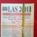 Libros antiguos: TUBAL LAS 2001 NOCHES REVISTA DE POESÌA NUMERO 22 1997 . Lote 150149406