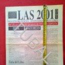 Libros antiguos: TUBAL LAS 2001 NOCHES REVISTA DE POESÌA NUMERO 25 1997 . Lote 150149706