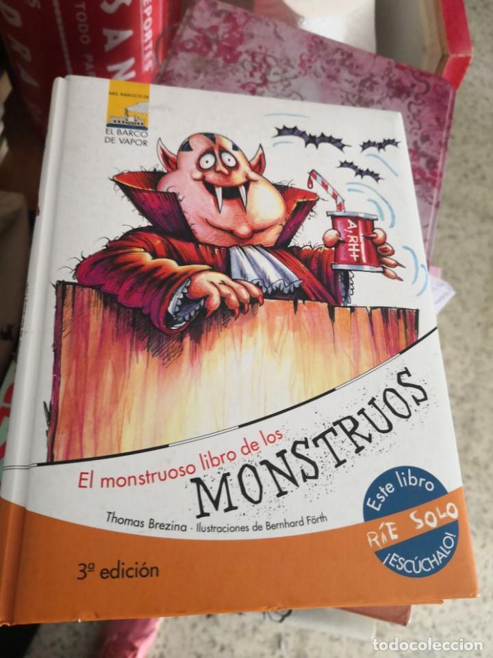 EL MONSTRUOSO LIBRO DE LOS MONSTRUOS 3ª EDICIÓN EL BARCO DE VAPOR (Libros Antiguos, Raros y Curiosos - Literatura Infantil y Juvenil - Otros)