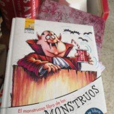 Libros antiguos: EL MONSTRUOSO LIBRO DE LOS MONSTRUOS 3ª EDICIÓN EL BARCO DE VAPOR. Lote 150214734
