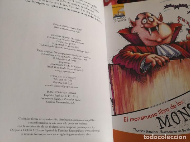Libros antiguos: El monstruoso libro de los monstruos 3ª edición el barco de vapor - Foto 3 - 150214734