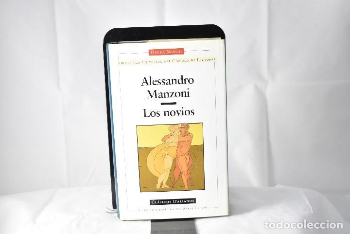 LOS NOVIOS. MANZONI, ALESSANDRO (Libros antiguos (hasta 1936), raros y curiosos - Literatura - Narrativa - Otros)