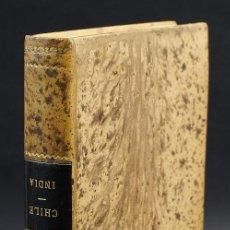 Libros antiguos: HISTORIA DE CHILE-CESAR FAMIN-IMPRENTA DEL GUARDIA NACIONAL, BARCELONA-1839. Lote 150281706