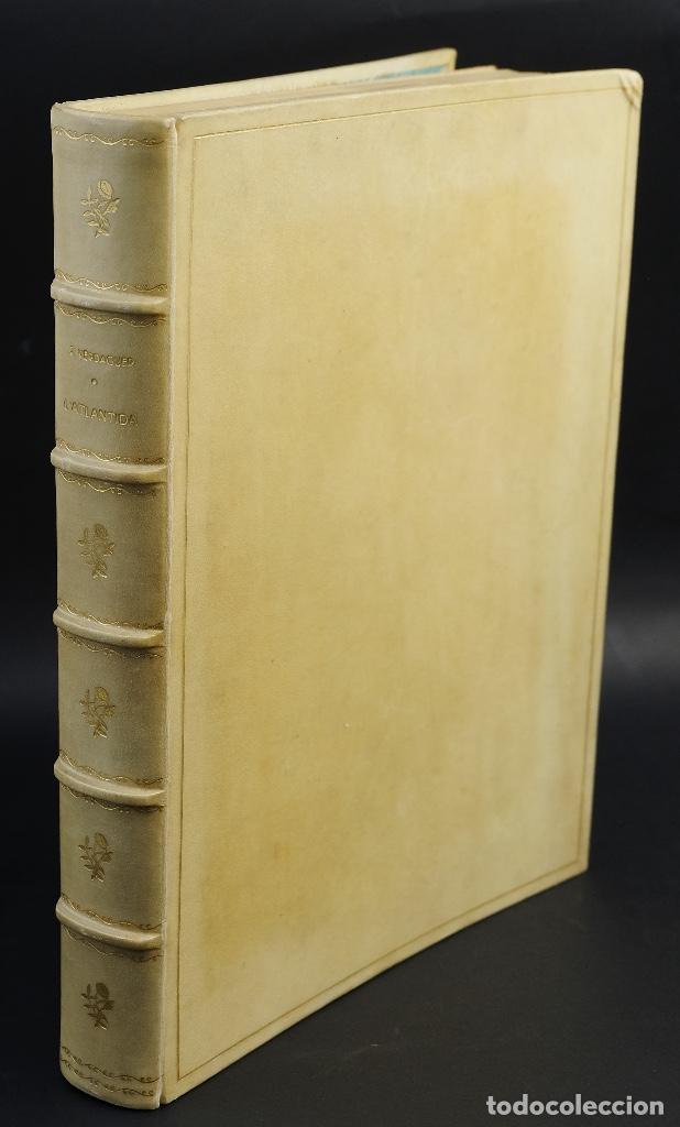 L'ATLANTIDA DE JACINTO VERDAGUER-EDUARDO JUNYENT Y MARTÍN DE RIQUER-BARCELONA,1946-EJ. 55 DE 1000 (Libros Antiguos, Raros y Curiosos - Historia - Otros)