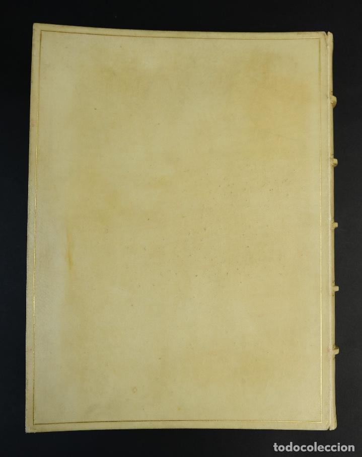 Libros antiguos: L'Atlantida de Jacinto Verdaguer-Eduardo Junyent y Martín De Riquer-Barcelona,1946-Ej. 55 de 1000 - Foto 4 - 150281718