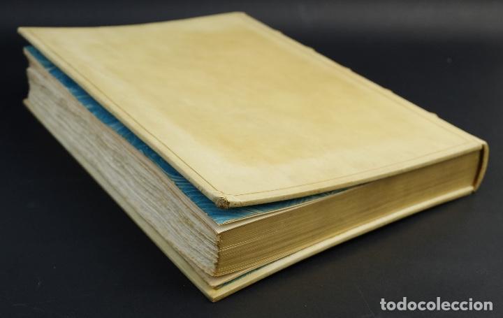Libros antiguos: L'Atlantida de Jacinto Verdaguer-Eduardo Junyent y Martín De Riquer-Barcelona,1946-Ej. 55 de 1000 - Foto 5 - 150281718