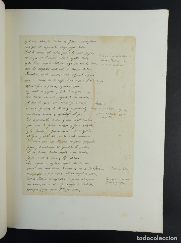 Libros antiguos: L'Atlantida de Jacinto Verdaguer-Eduardo Junyent y Martín De Riquer-Barcelona,1946-Ej. 55 de 1000 - Foto 9 - 150281718