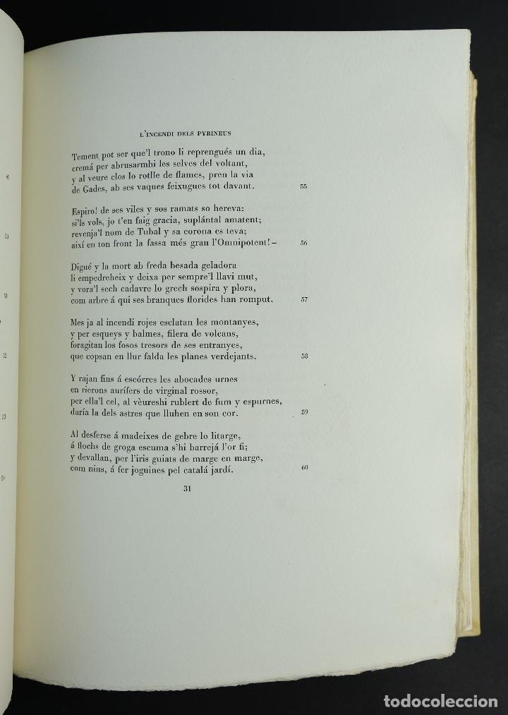 Libros antiguos: L'Atlantida de Jacinto Verdaguer-Eduardo Junyent y Martín De Riquer-Barcelona,1946-Ej. 55 de 1000 - Foto 11 - 150281718