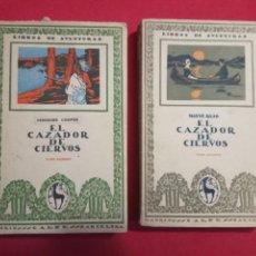 Libros antiguos: EL CAZADOR DE CIERVOS - REID, MAYNE.2 TOMOS.1920.. Lote 150282634