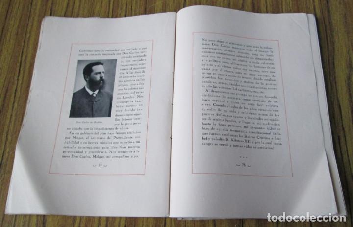 Libros antiguos: NOTAS DE UNA VIDA 1868 – 1901 Conde de Romanones Tomó primero - Foto 2 - 150316198